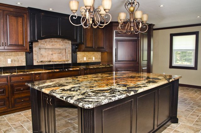 Orinoco Sensa Granite Kitchen Countertops Kitchen Ideas