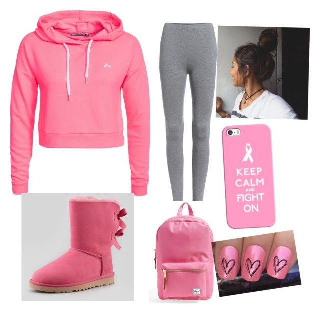 """""""Untitled #15"""" by kayla-daniels on Polyvore featuring Only Play, UGG Australia, Herschel Supply Co. and Casetify"""