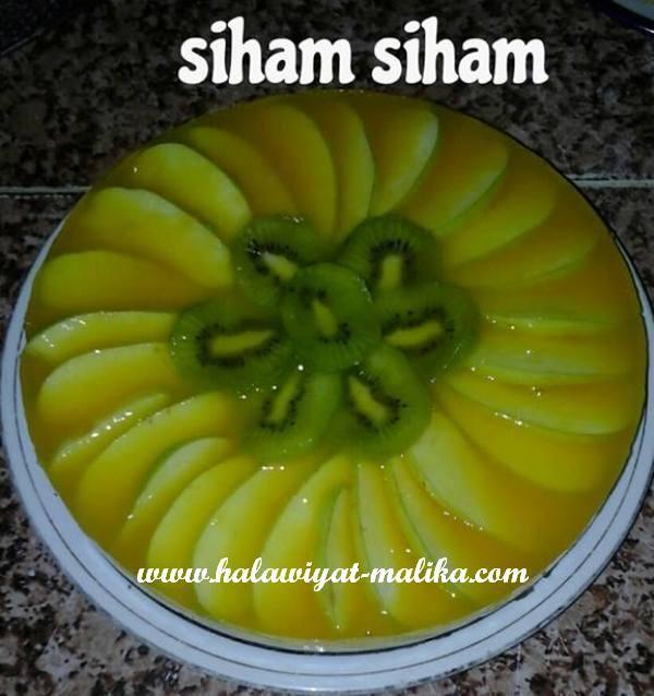 طبق حلى بببقايا الكيك سهل ولذيييذ Food Fruit Desserts