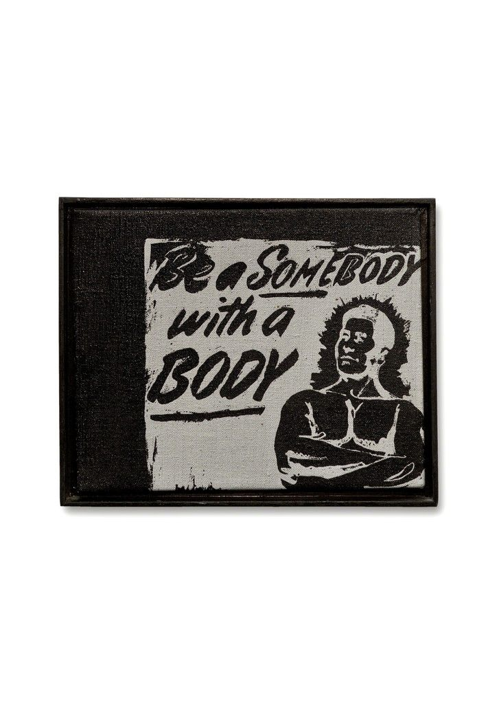 Be a somebody with a body | Andy Warhol, Be a somebody with a body (1985)