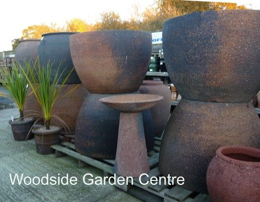 Extra Large Old Stone Palm Tree Pot Planter Woodside Garden Centre Pots To Inspire