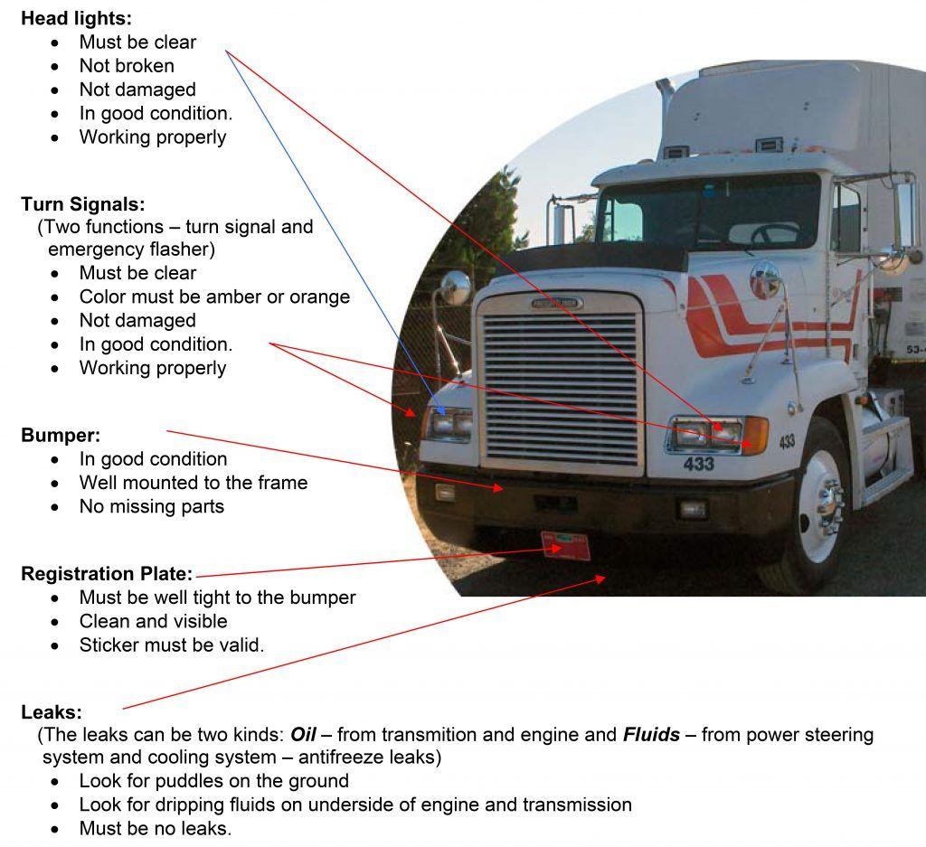 medium resolution of cdl test bus engine semi trucks old trucks driving school spanish