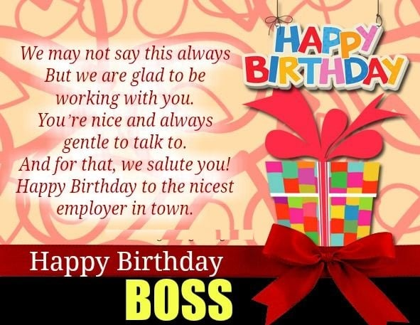 10+ Happy Birthday Boss Wishes, Meme, Quotes, and Images