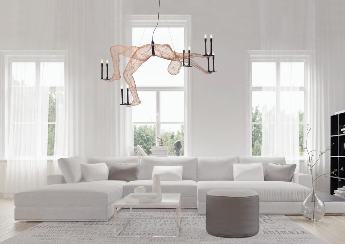 LIMBO Trapeze Series Chandelier | Contemporary furniture ...