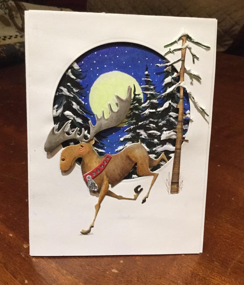 спасибо фото, новогодние открытки с лосями рыботы