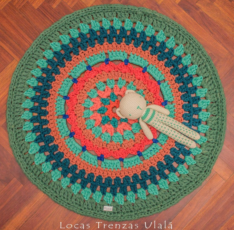 Xl Rag Rug: Pin By KRYSS Complements On Alfombras De Trapillo