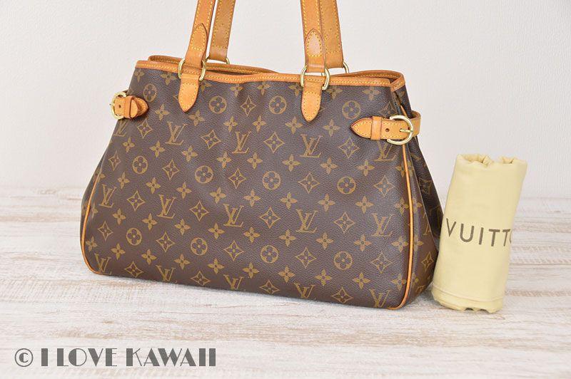 Louis Vuitton Monogram Batignolles Horizontal Shoulder Tote Bag M51154 1e68106a29