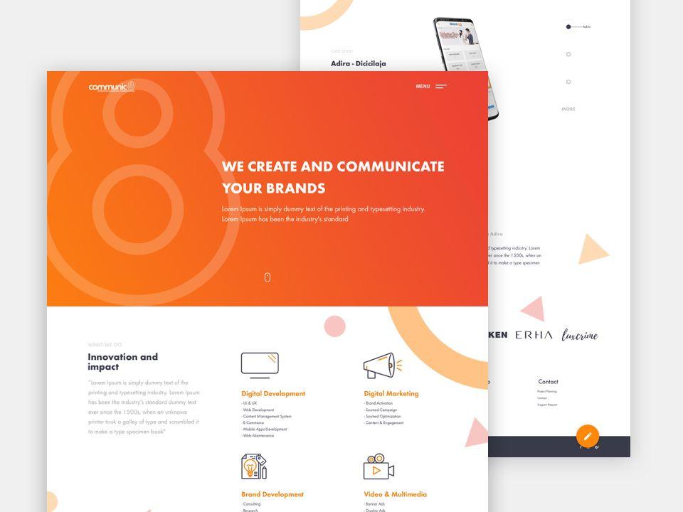 Agency Website Agency Website Agency Website Design Website Design Inspiration