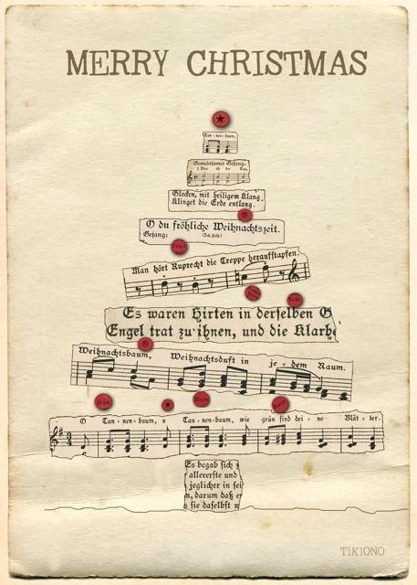 Ähnliche Artikel wie Weihnachtskarte merry Christmas auf Etsy