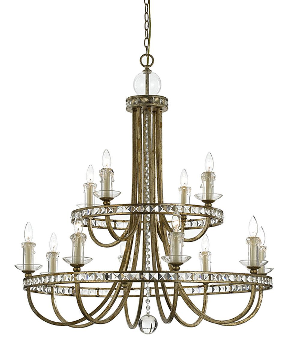 Look at this zulilyfind soft gold aristocrat chandelier by candice soft gold aristocrat chandelier by candice olson lighting zulilyfinds aloadofball Choice Image