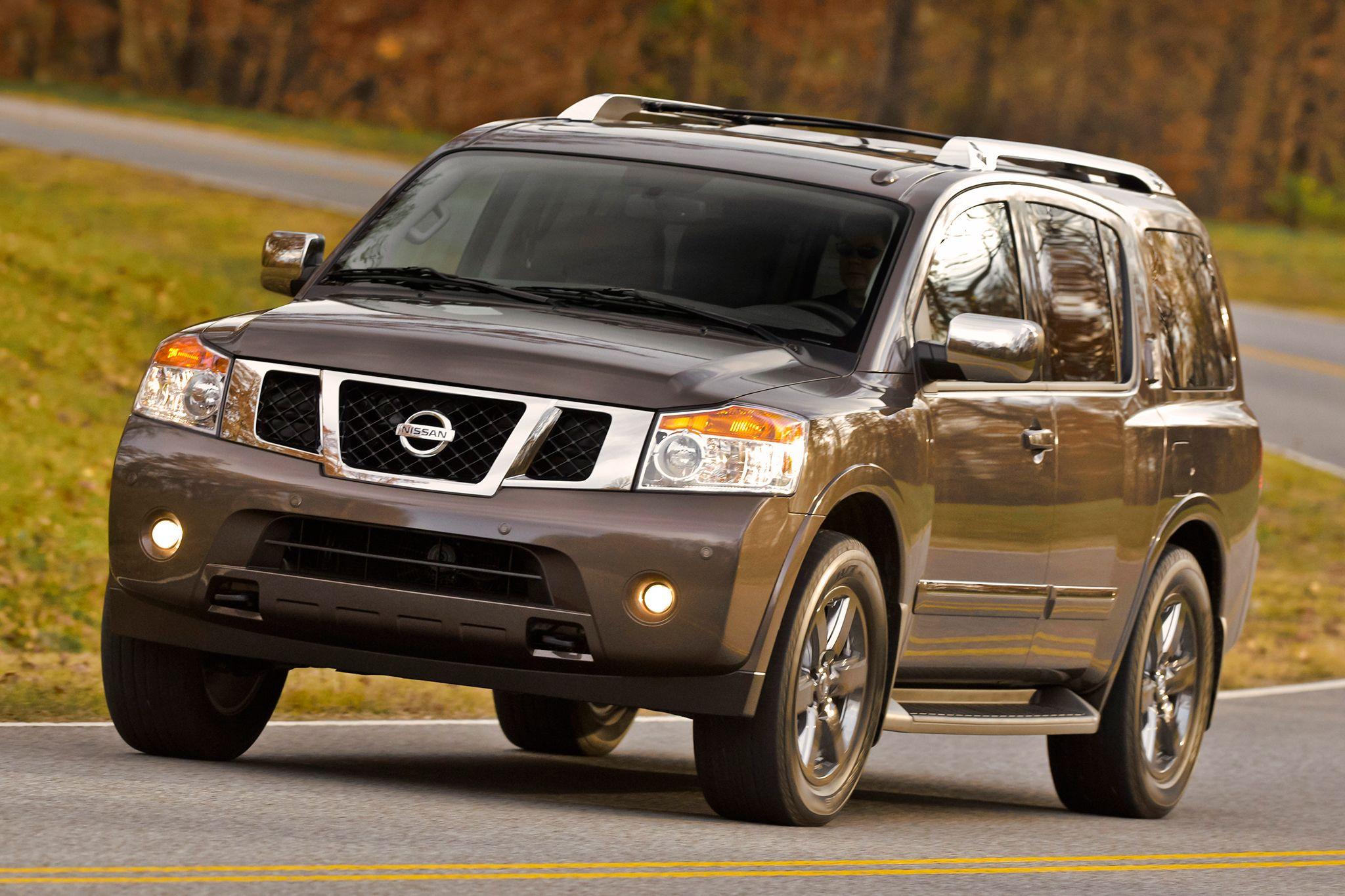 March 2015 Fullsize Suv Sales Smaller Numbers Big Profits Nissan Armada Nissan Jeep Names