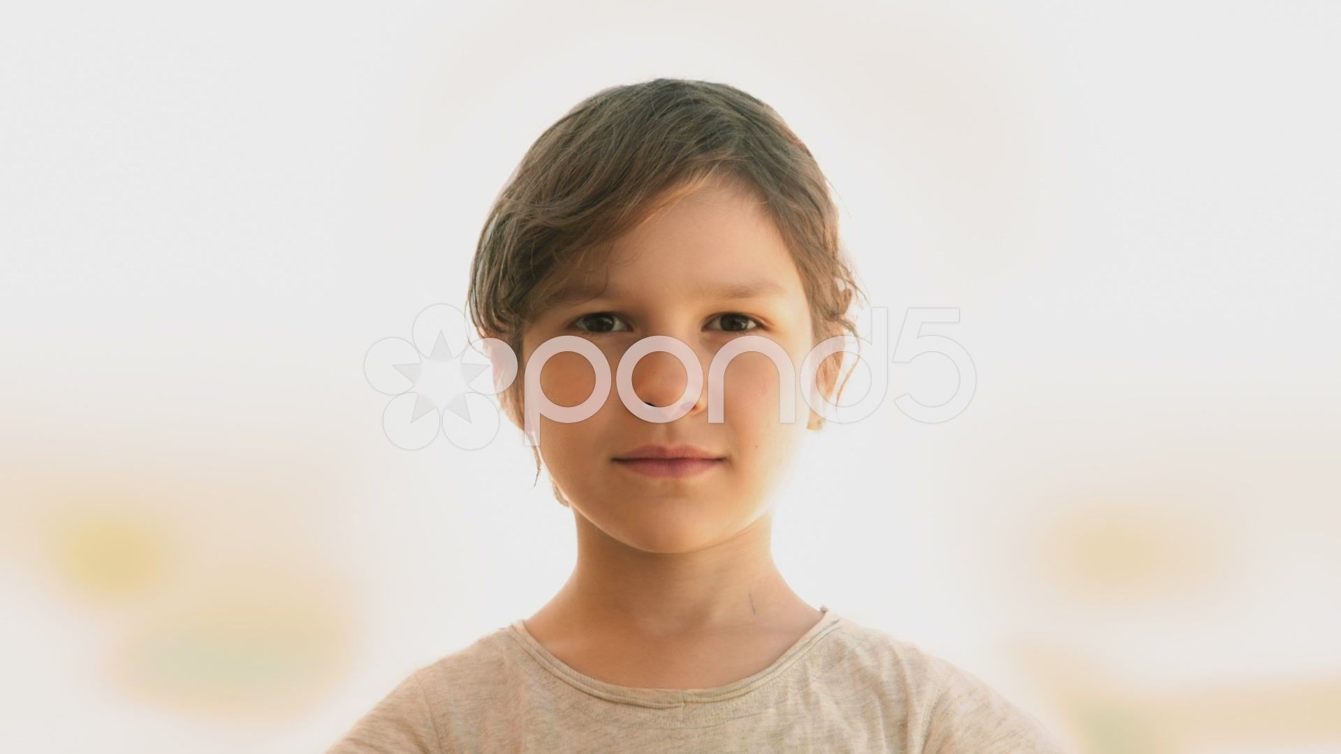 Getting older zoom small child morphing into grandmother