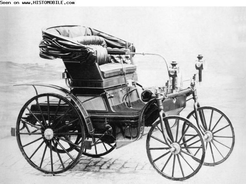 Daimler Schroedter Wagen 1892 1895