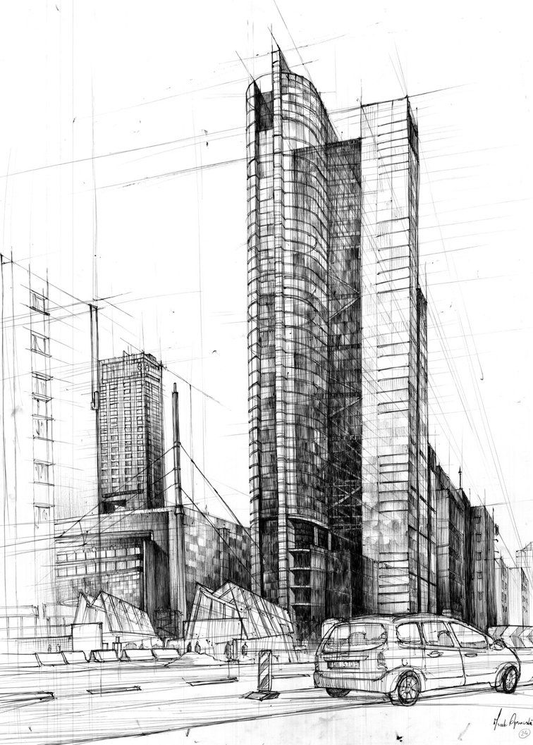 Architectural Drawings Of Skyscrapers wonderful architectural drawings of skyscrapers inside decor