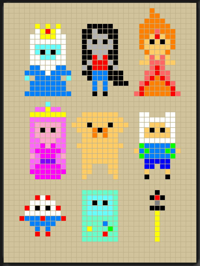 Adventure Time perler bead patterns designed by Rosealine Black ...