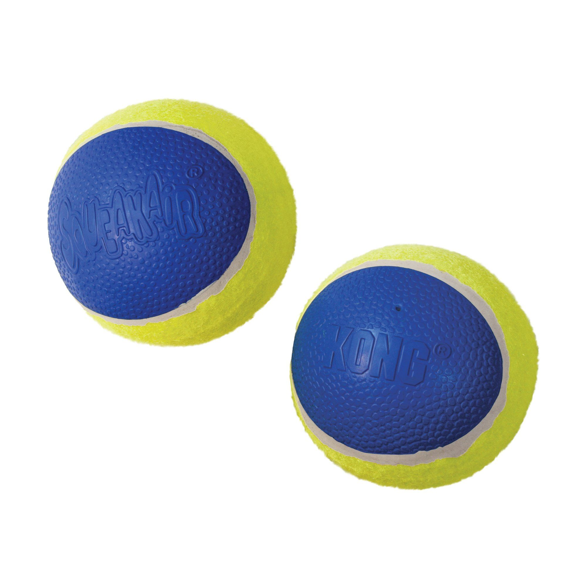 Kong Ultra Squeakair Ball Dog Toy Medium Yellow Kong Dog Toys