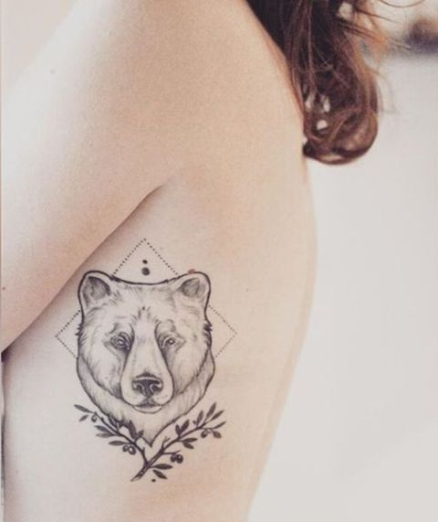 20 Bear Tattoo Ideas For Girl To Repeat