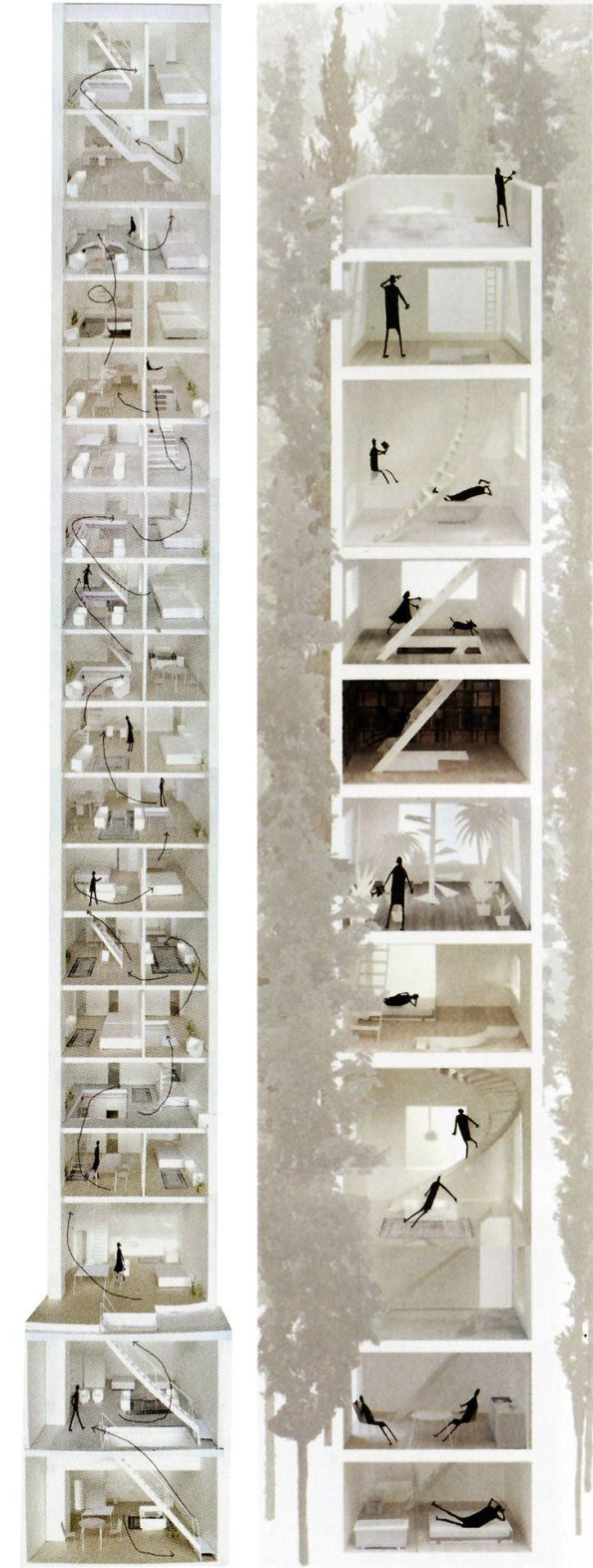 ishigami 2 maquettes marre et croquis. Black Bedroom Furniture Sets. Home Design Ideas