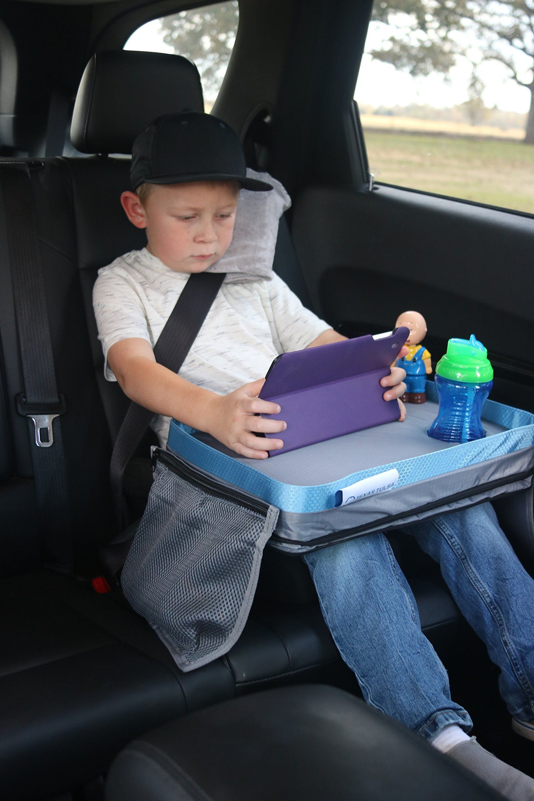 Premium Little Bs Travel Tray For Kids HashTag2
