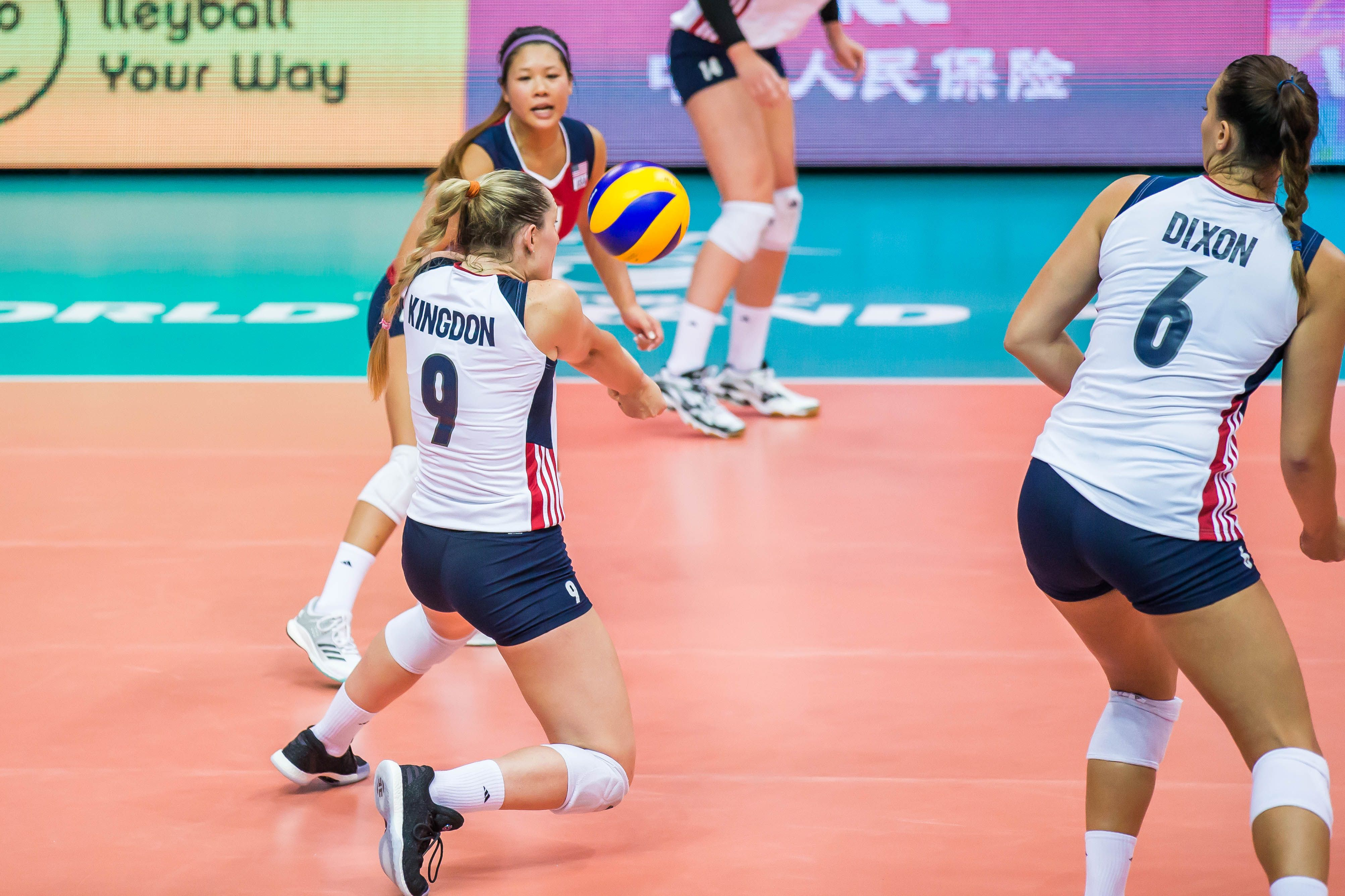 Madison Kingdon Scores 57 Points In South Korean League Nearly A Wr Volleyball News League Madison