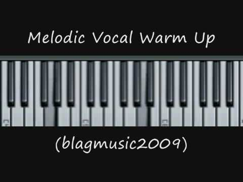 Melodic Vocal Warm Up for Singing Lessons
