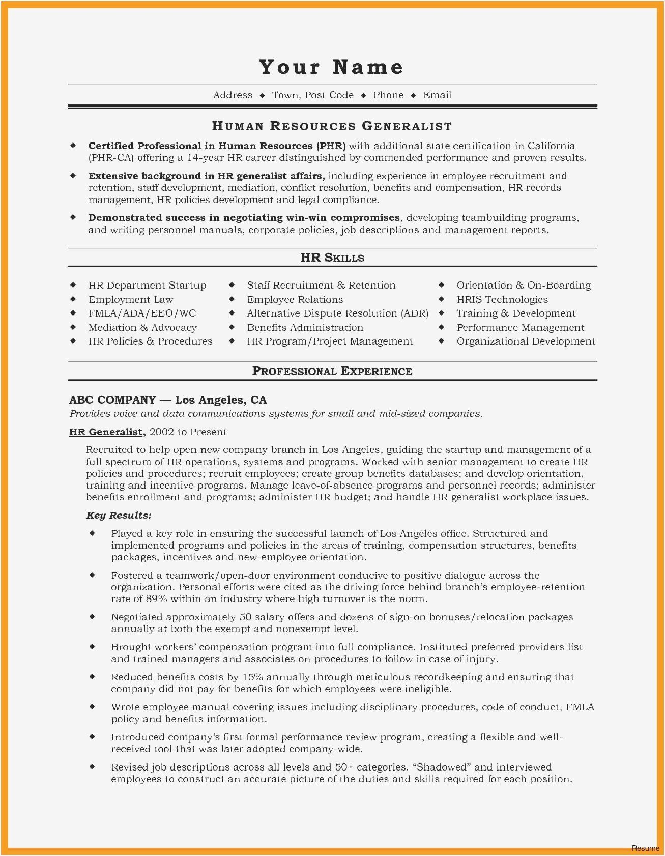 Assistant Manager Resume Sample Lovely Resume Examples Contract Administrator New Residential Executive Resume Template Resume Skills Project Manager Resume