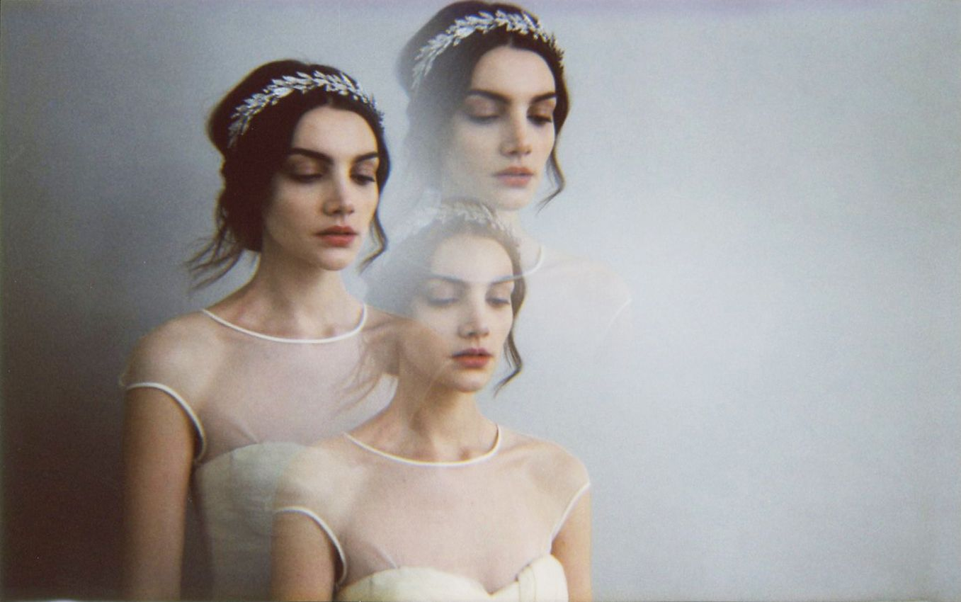 The ultimate wedding headpiece, the Arielle Crown by Jennifer Behr ...