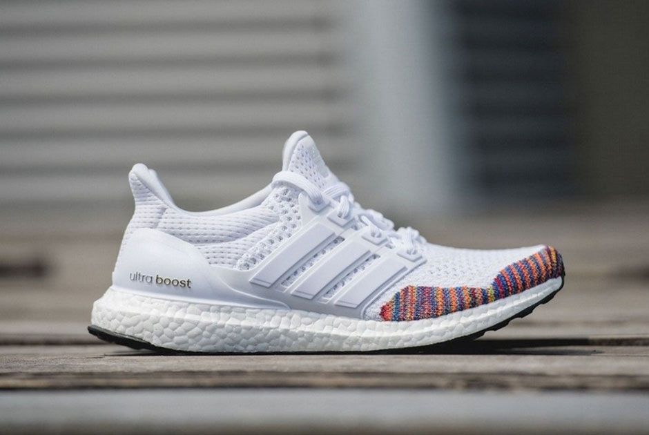 the adidas boost running multi color primeknit pack is