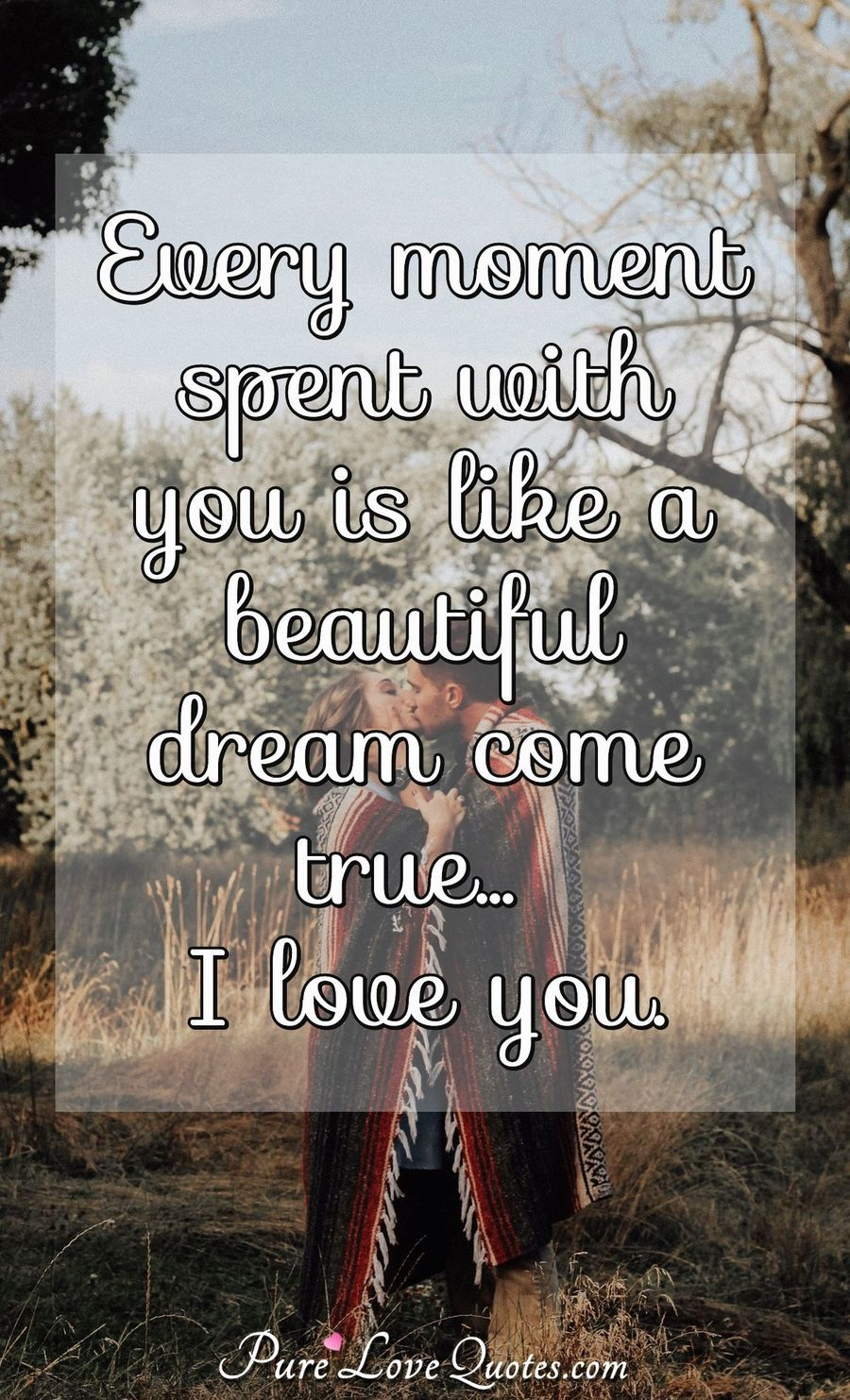 Love Quotes From Purelovequotes Com Love Quotes Beautiful Dream