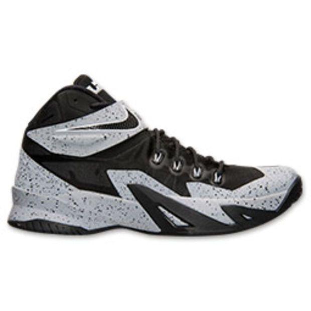 Men\u0027s Nike Zoom LeBron Soldier 8 Premium Basketball Shoes