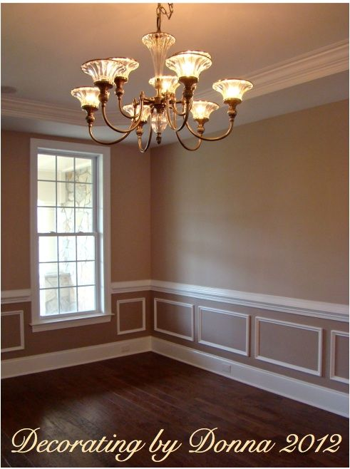 2 tone room color ideas the color has a slight graylavender tone to - Dining Room Two Tone Paint Ideas