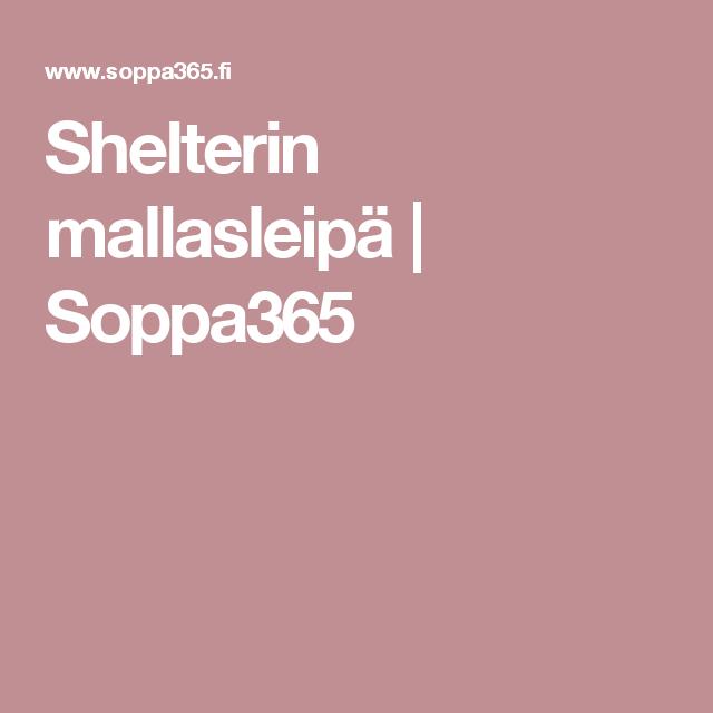 Shelterin mallasleipä | Soppa365