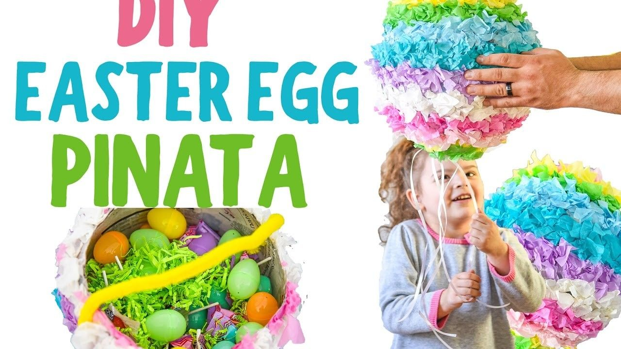 Diy easter egg pinata youtube tutorial easter tutorials and diy easter egg pinata youtube tutorial negle Images