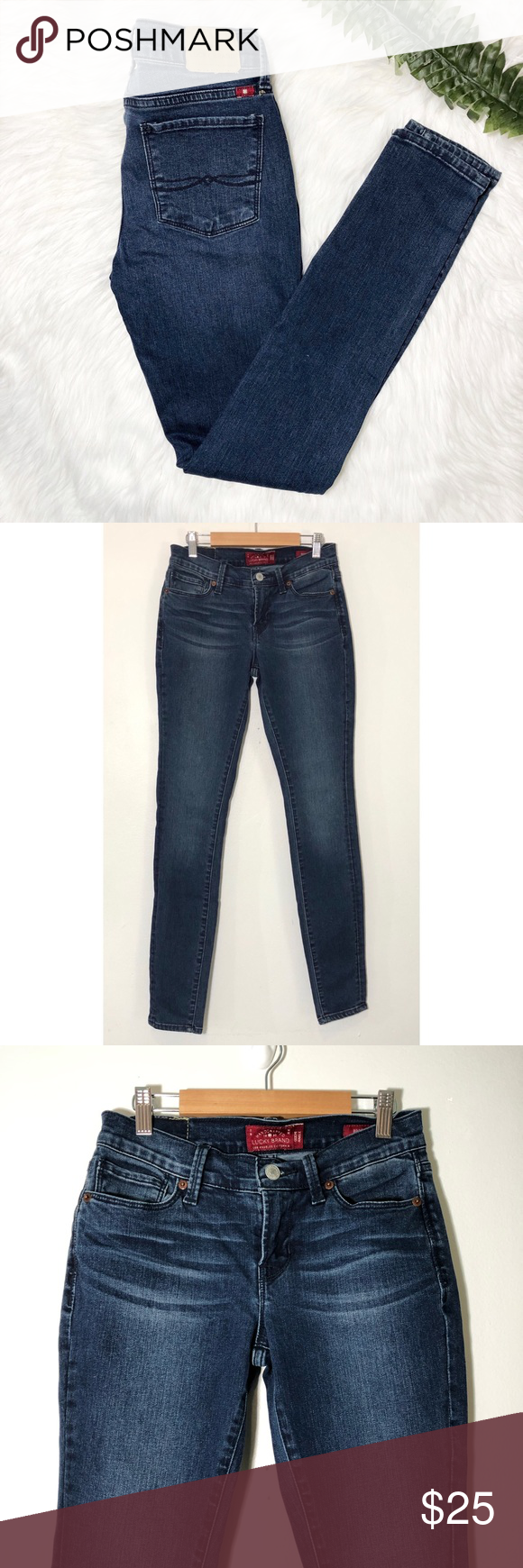Lucky Brand Brooklyn Skinny Jeans Size 00/24 Approximate