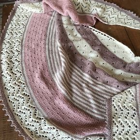 Photo of Milkshed's 3 Color Shawl