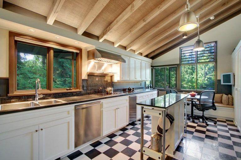 29 Gorgeous One Wall Kitchen Designs Layout Ideas Kitchen Designs Layout Classic Kitchen Design One Wall Kitchen