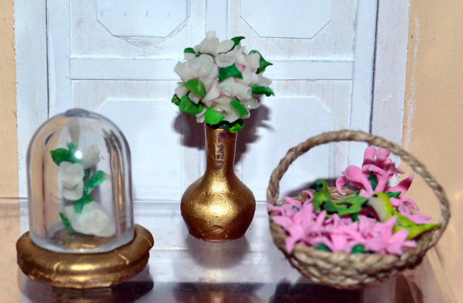 MIS MINIATURAS Y YO: DECORANDO CON FLORES Y TUNEOS - DECORATING WITH FLOWERS AND TUNEOS