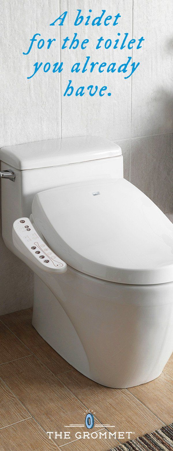 Enjoy The Benefits Of A Bidet With The Toilet You Already Have