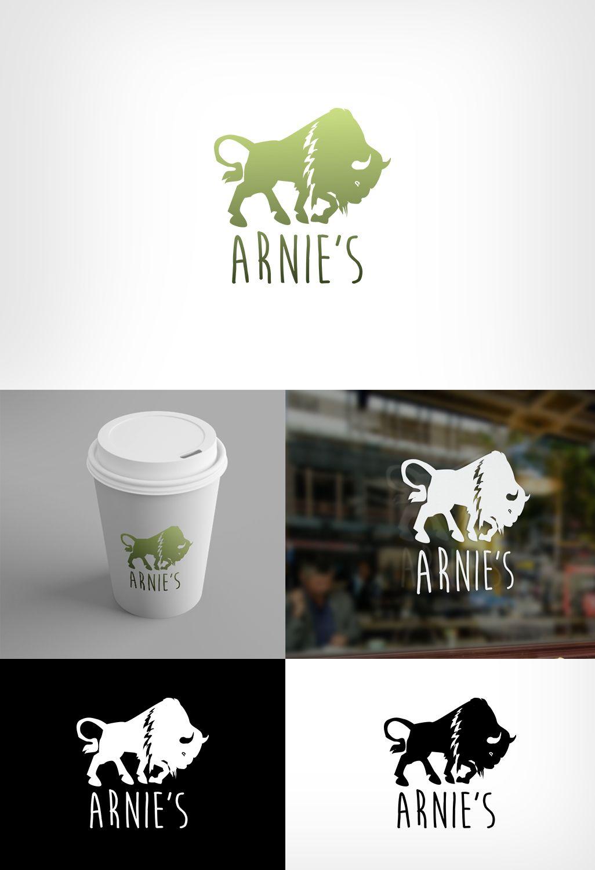 Bull logo concept for fast food restaurant on behance