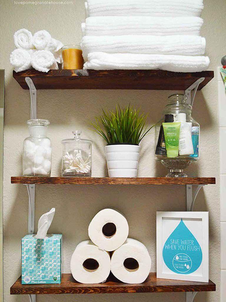 20 soluciones sencillas para organizar un baño pequeño ...