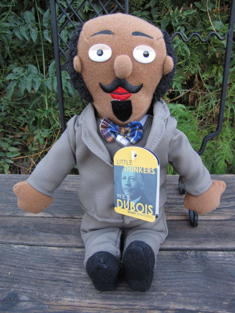 Little thinkers web dubois plush doll with educational