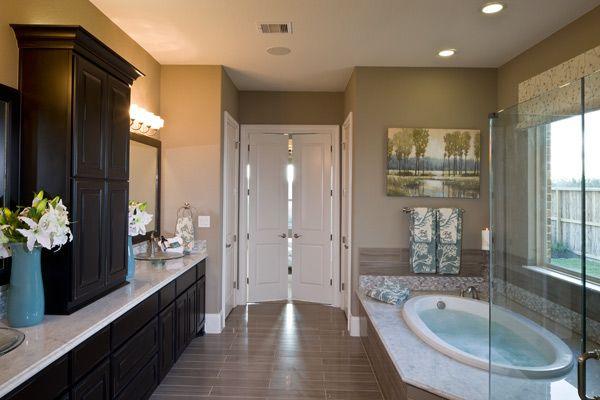 Jonas Brothers Texas Home Stunning Rustic Living Room: Toll Brothers Vallagio Manor