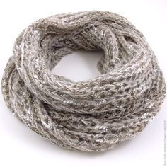 tricoter une echarpe infinie charpes pinterest. Black Bedroom Furniture Sets. Home Design Ideas