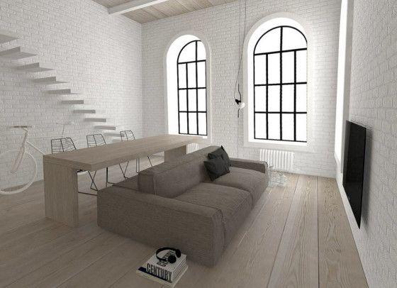 Planos de apartamentos peque os de uno y dos dormitorios - Disenos de apartamentos pequenos ...