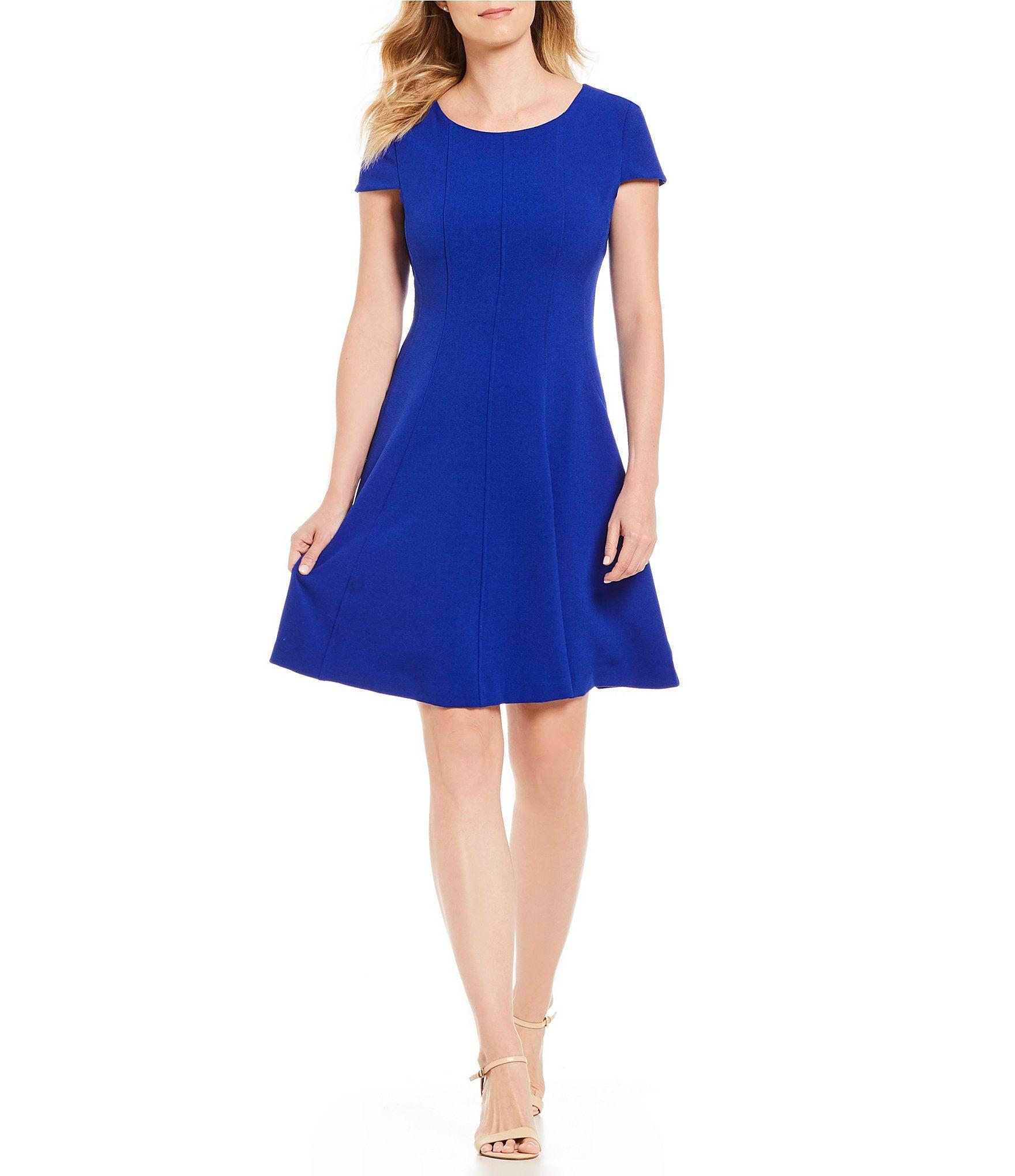 ba064f9e5d8 Shop for Jessica Howard Cap Sleeve Fit and Flare Dress at Dillards.com.  Visit