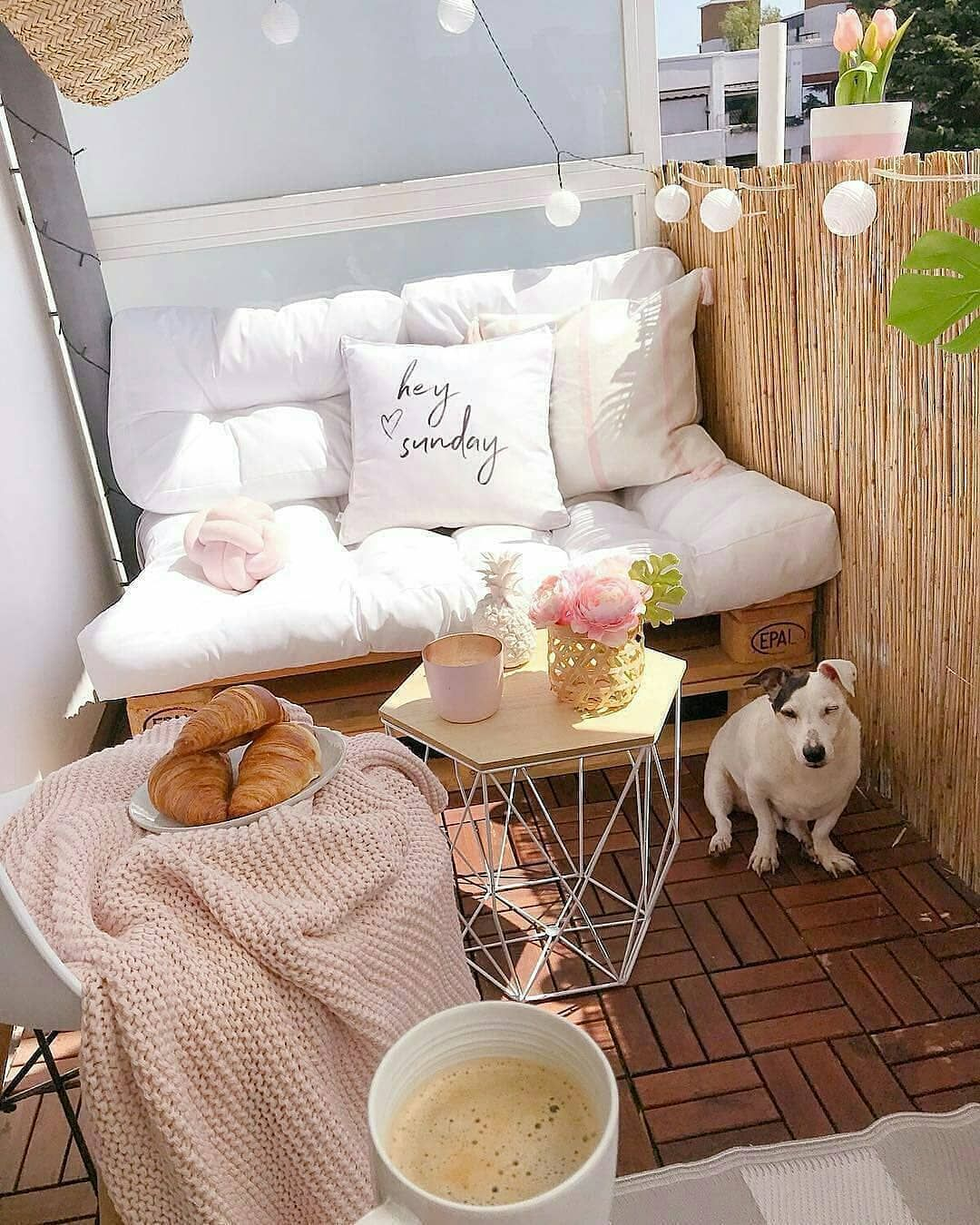 40 Cozy Balcony Ideas and Decor Inspiration 2019 - Page 17 of 41 - My Blog