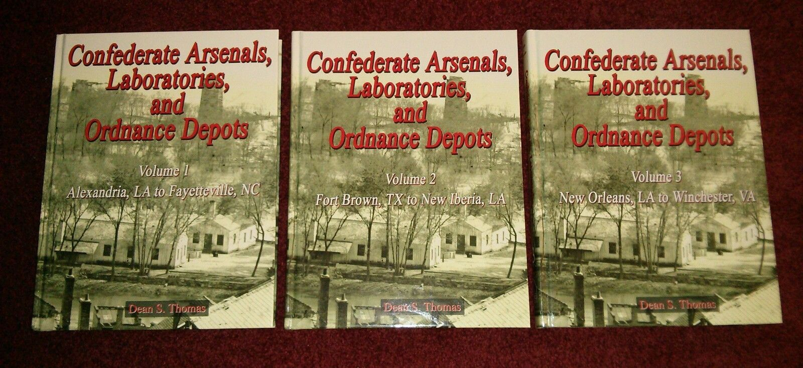 Confederate Arsenals Laboratories And Ordnance Depots Dean S