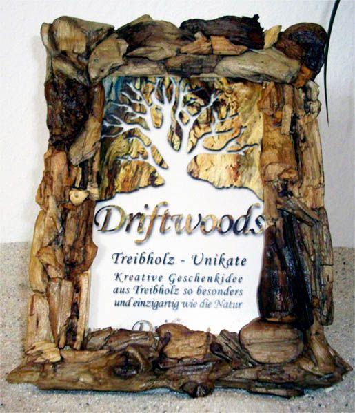 DRIFTWOODS BILDERRAHMEN AUS TREIBHOLZ HOME AND LIVING TREIBHOLZ UNIKATE