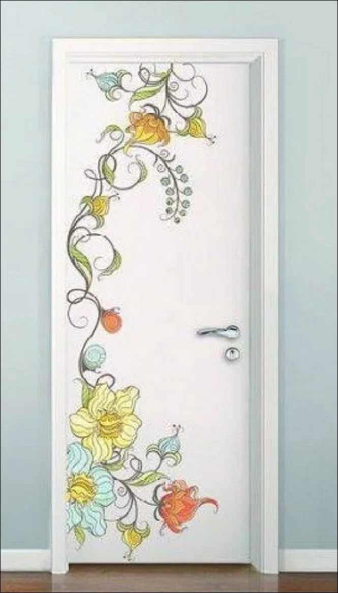 21 Painting Bedroom Doors Ideas 11 Painted Doors Diy Interior Doors Wall Paint Designs