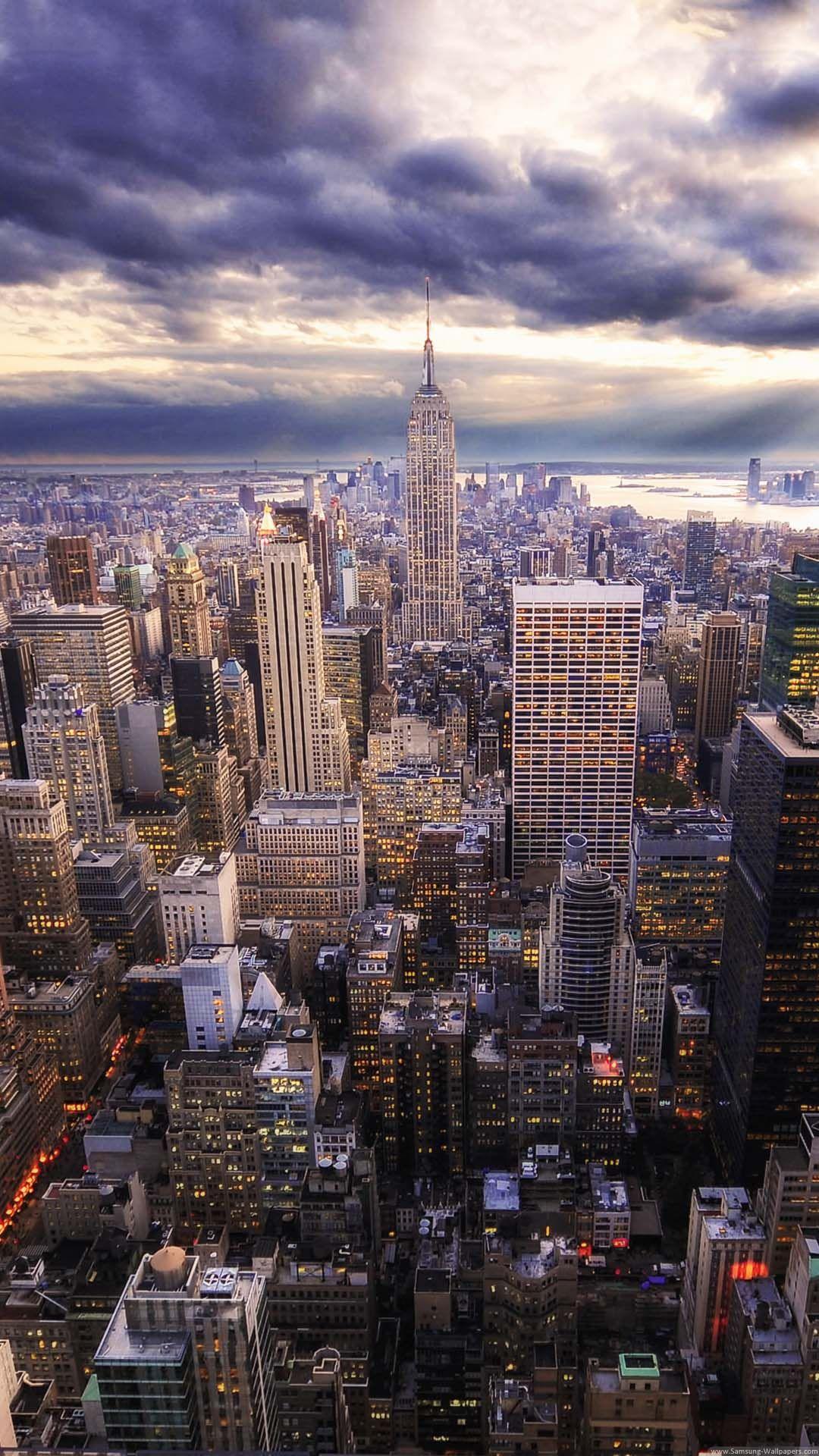New York City Skyline New York Wallpaper City Wallpaper York Wallpaper